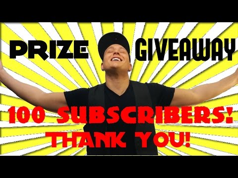 CLOSED - FREE PRIZE GIVEAWAY! - Thank You for 100 Subscribers!