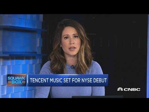 Tencent Music set for NYSE debut Mp3