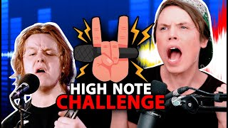 HIGH NOTE CHALLENGE: Lewis Capaldi  'Someone You Loved'