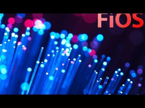 FIOS Fiber Optic Internet and TV.