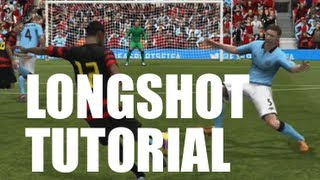 FIFA 13 | How to Score Long Shots!! (Tutorial #1)