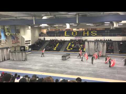 Upland High School Winterguard 2016