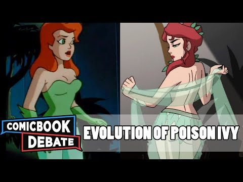 Evolution of Poison Ivy in Cartoons in 13 Minutes 2018
