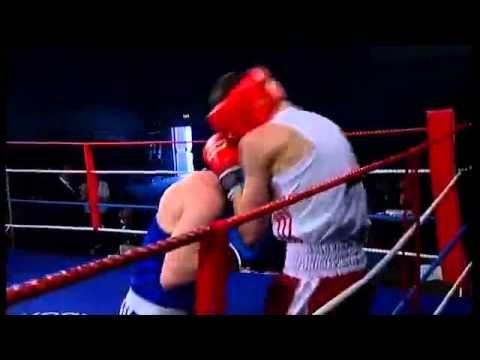 Harry Woods v Sam Ball 60kg   Merseyside & Cheshire ABA v Scotland