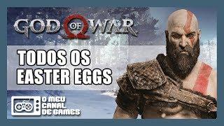 GOD OF WAR: SEGREDOS, REFERÊNCIAS E EASTER EGGS [Parte 1]