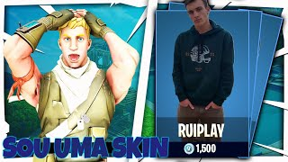 FORTNITE-SKIN OF RUIPLAY IN STORE?? CREATOR CODE (RUIPLAYYT)