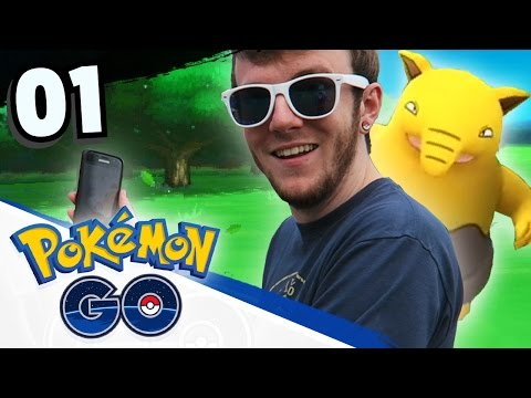 Let's Play Pokemon GO! • Part 01 • POKEMON IN REAL LIFE! • Pokemon GO Gameplay
