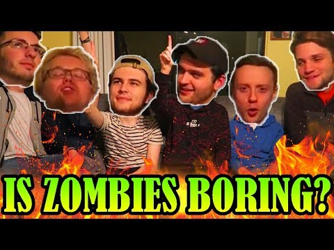 IS BLACK OPS 4 ZOMBIES BORING? (ft. MrTLexify, MrRoflwaffles, JCBackfire, Ch0pper, & Conway)