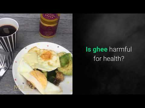 Fat in ghee is a known fact