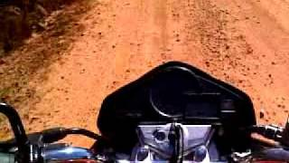 Cb 300r e XRE 300 teste na estrada de terra