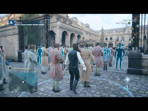 Assassin's Creed Unity Walkthrough Gameplay #3 The Estates General SICK FREERUNNING!