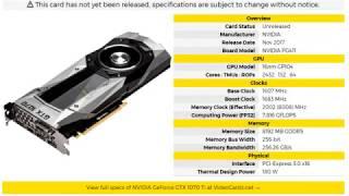 Частоты и напряжение Core i7 8700K, 12 Нм от AMD и 1070ti от Nvidia. ХN#81