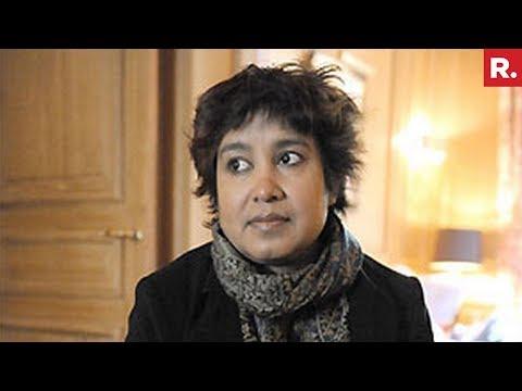 Taslima Nasreen Slams Bangladesh Over Rohingya Muslim Issue