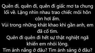 Quên đi - Emily (Lyrics)