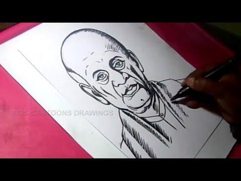 Sardar Vallabhbhai Patel Drawing
