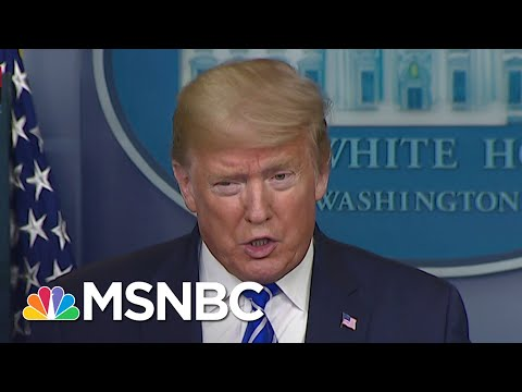 Trump Suggests Injecting Disinfectant Into The Body To Treat Coronavirus | MSNBC