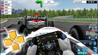 Formula One 2006 PPSSPP Gameplay Full HD / 60FPS