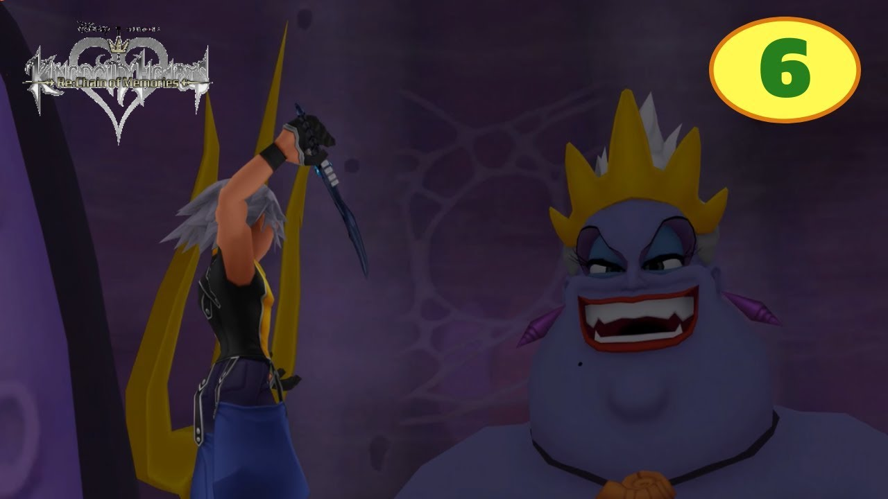 Kingdom Hearts Chain of Memories Part 6 Atlantica - YouTube