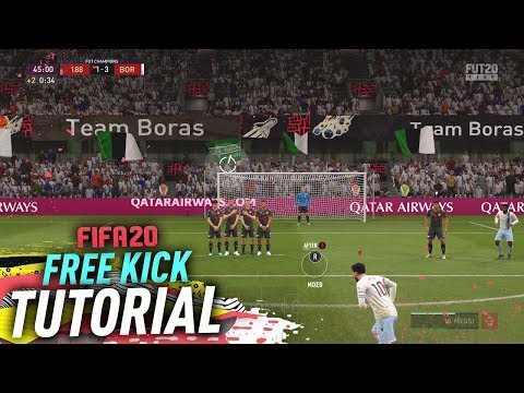 HOW TO TAKE THE PERFECT FREE KICK IN FIFA 20 - EASY TUTORIAL