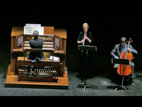 Concert by organist Mark Babcock and performers on Voice, Oboe, English Horn, Euphonium, and Cello
