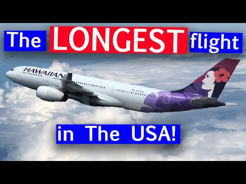 Hawaiian Airlines First Class A330 From Boston To Honolulu