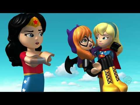 LEGO DC Super Hero Girls Brain Drain - Pop Quiz Now or Later Clip