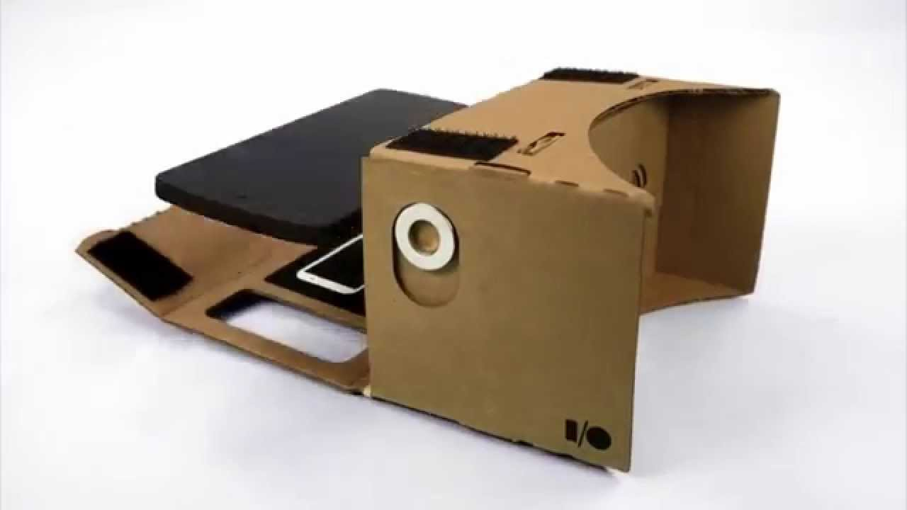 Google Cardboard 虛擬實境3D眼鏡 - YouTube