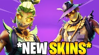 🔴*NEW* HAY MAN SKIN IN FORTNITE BATTLE ROYAL PS4 player Gameplay