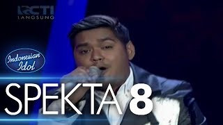 abdul kiss me sixpence none the richer spekta show top 8 indonesian idol 2018