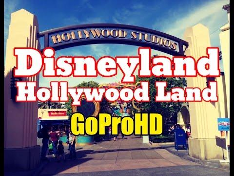 Disneyland Hollywoodland Studios New (GoPro HD) - Disney California Adventure Hollywood Land