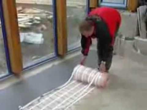 Elektrische vloerverwarming  YouTube