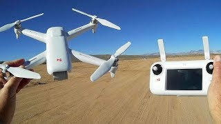 Xiaomi Fimi A3 GPS Gimbal FPV Camera Drone Flight Test Review
