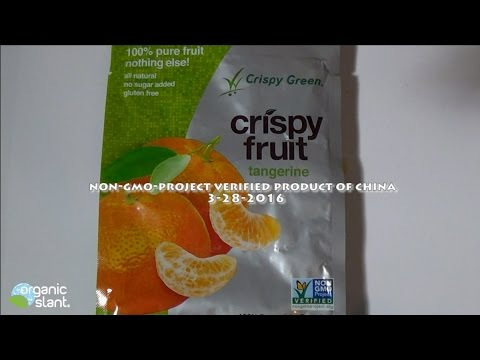 Non-GMO Project Verified Made In China 3-28-2016 | Organic Slant