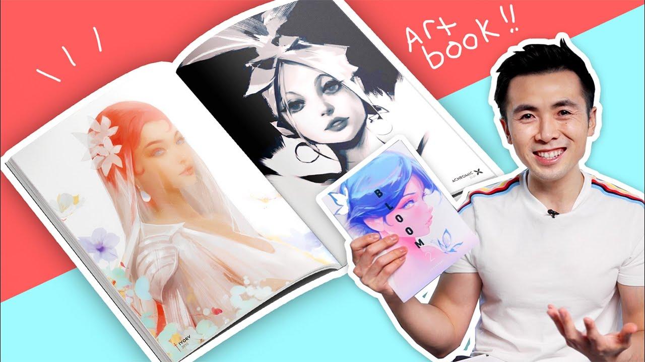 MY NEW ART SKETCHBOOK!! | Bloom 2 - RossDraws