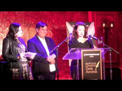 FRAN DRESCHER ANNOUNCES THE DRAMA DESK AWARD NOMINEES