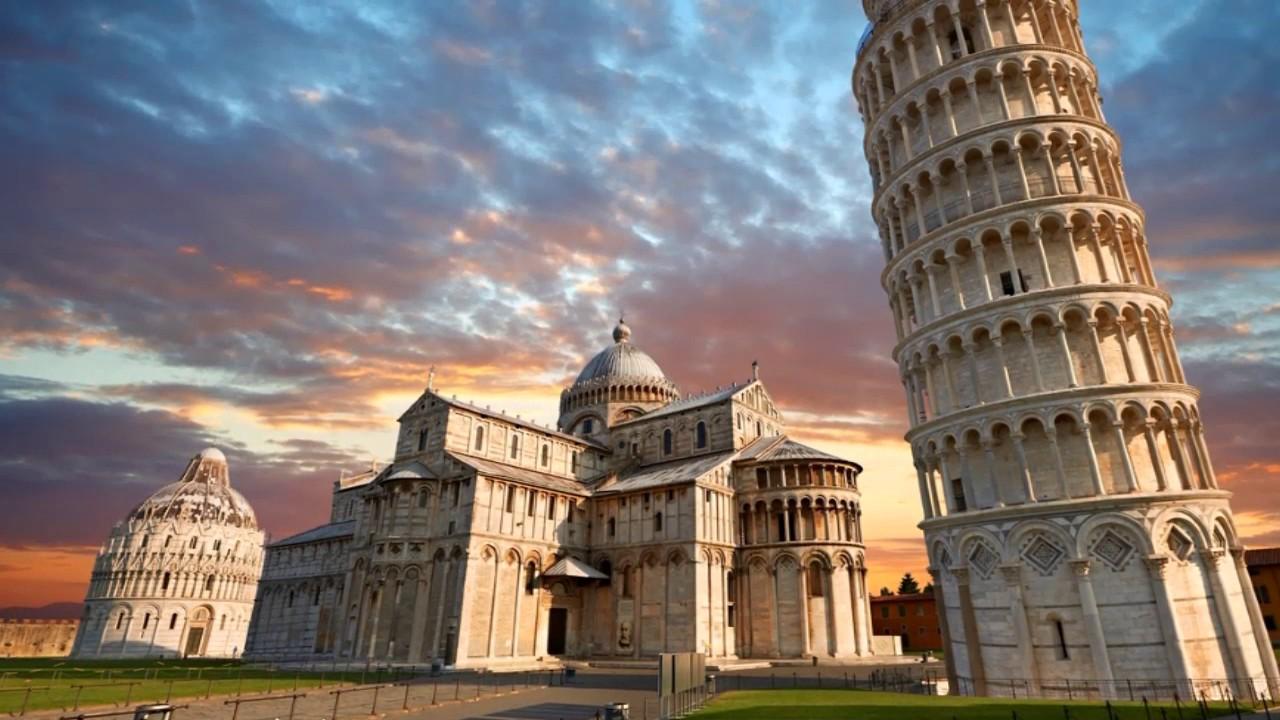 foto de 12 Curiosidades Sobre La Torre Inclinada De Pisa YouTube