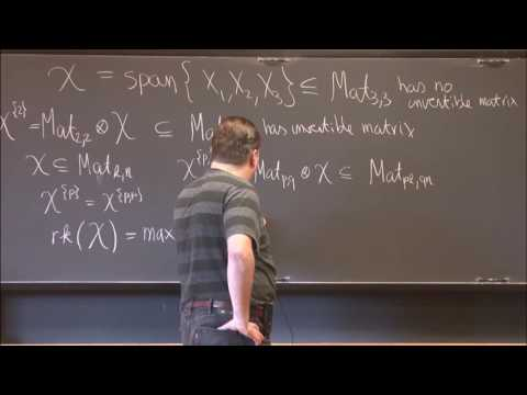 Matrix invariants and algebraic complexity theory - Harm Derksen