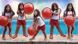 MARIA CLARA FOI CLONADA - FINGER FAMILY SONG NURSERY RHYMES LEARNING VIDEO