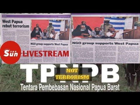 OPM TPNPB MEMBANTAH STIKMA TERRORIST || Laporan media utama POST CURRIER PNG, Edisi 01 April 2021