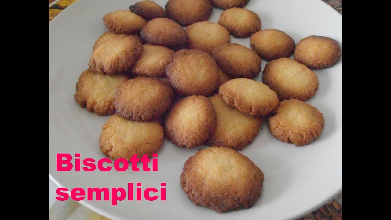 9 VIDEO RICETTA Biscotti semplici   YouTube