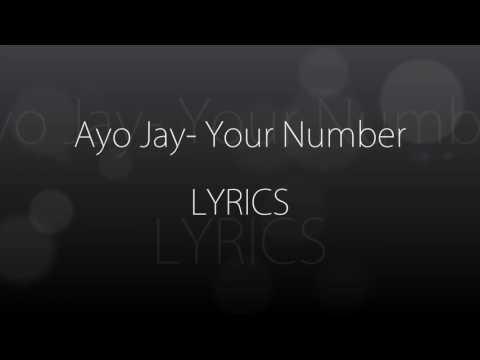 Ayo Jay - Your Number Lyrics