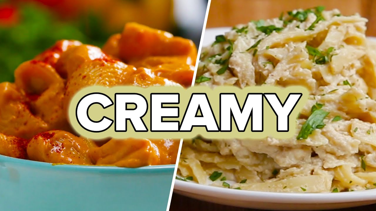 maxresdefault - Liked on YouTube: 4 Creamy Dairy-Free Pastas