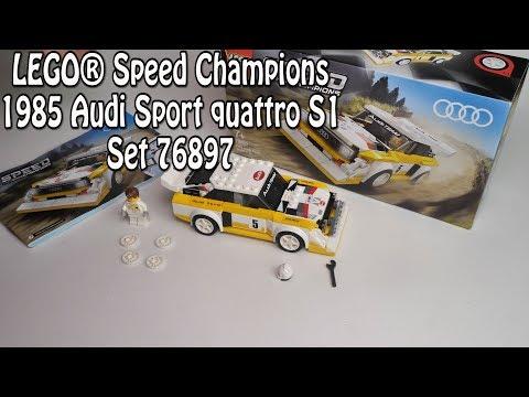 Review: LEGO 1985 Audi quattro S1 (Speedchampions Set 76897)