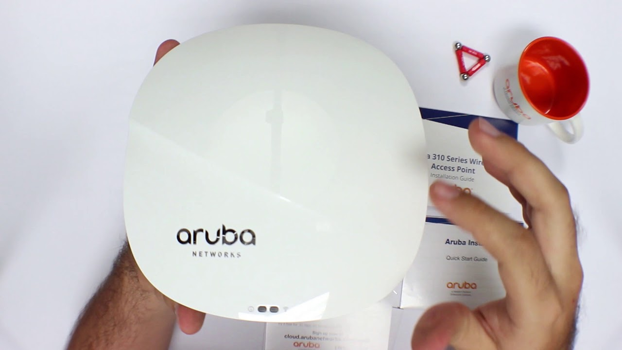 Aruba Access Point IAP315 Unboxing
