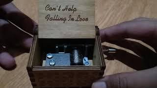 Gambar cover Can't Help Falling in Love Music Box