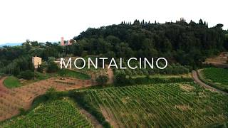 Montalcino from the air