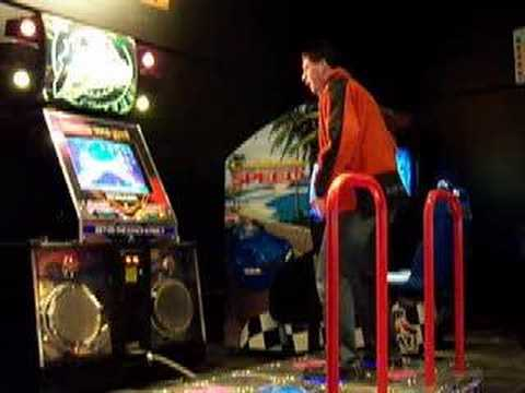 Terry loses at DDR