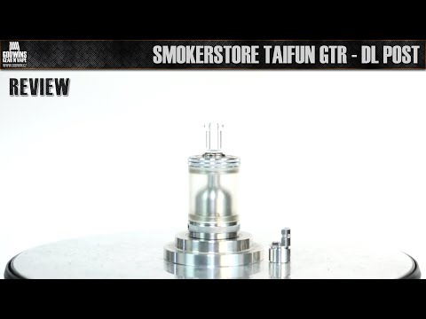 High Atomizer - SmokerStore Taifun GTR - DL Post tuning (CZ) from YouTube · Duration:  19 minutes 52 seconds