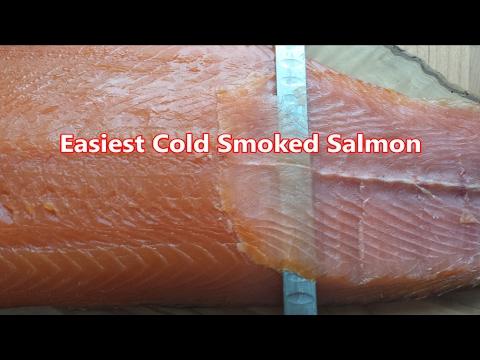 Easiest Cold Smoked Salmon