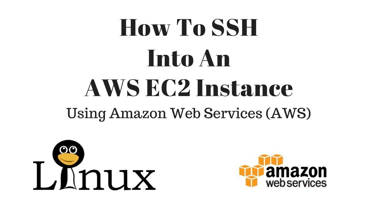 How to ssh into aws ec2 youtube how to ssh into aws ec2 1betcityfo Gallery